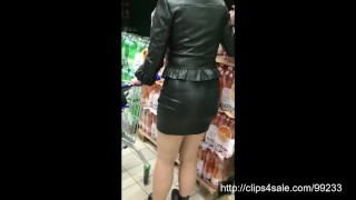 Shopping in the leather (Via smartphone)