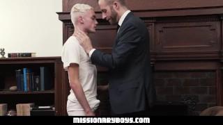 MormonBoyz - Teen takes Mormon President Cock Raw