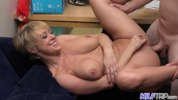 MILF Trip - Sexy short-haired blonde MILF Dee Williams - Part 1