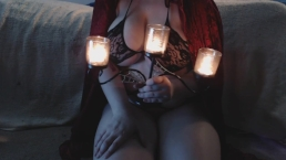 Curvy Domme Witch Needs the Cum of a Hapless Fool - SPH, Cum Countdown