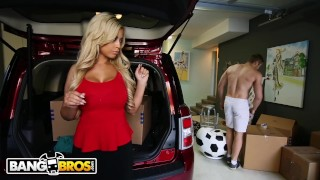 BANGBROS - Beefcake BF Jake Jace Fucks His GF's Stepmom, Bridgette B Teenager over