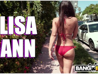 BANGBROS - Lisa Ann Is The Answer, Bang Bus Is The Question