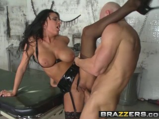 BRAZZERS - Anissa Kate AKA Dr Gangbanger Banger Treats big dicks only