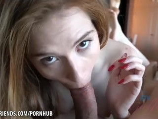 Pepper Hart needs you inside all her holes POV style