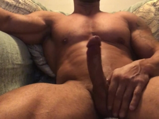 muscle cock cum