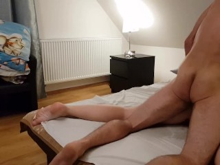 He fuck me and cum on my face