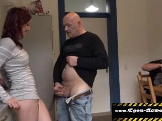Brüste blowjob