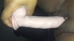 Horny morning dildo fuck