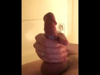 Jerking Off With Coconut Oil Solo