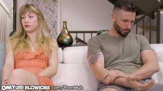 OnlyTeenBlowjobs Cheating Teen Blows her Man's Best Friend! Cowgirl hardcore
