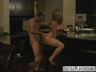 Digital Playground - Home Wrecker Kayden Kross gets fucked on the kitchen t