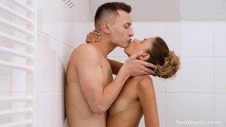 X-Angels.com - Nikol Baby - Shower, sex and shower again
