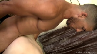 Young interracial relieving couple some pridestudios stress anal sex rimming