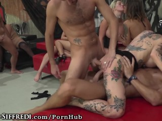 Roccosiffredi euro sex party with dp anal girl...