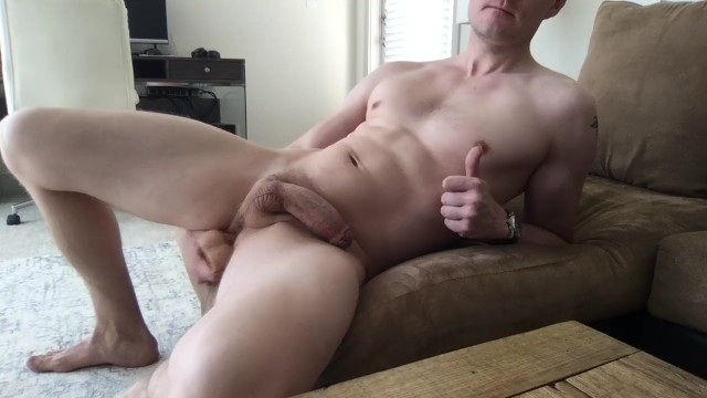Gay lick cum off - Guy fucks himself and cums