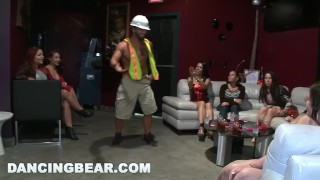 DANCING BEAR - Off The Chain CFNM Bachelorette Party