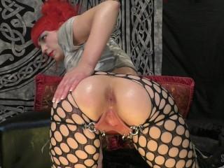 Cock fucking cum slut part 1 anal stuffing...