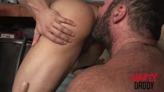 Daddy fucks his son porno