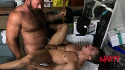 Daddy fucks his son