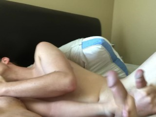 Teens Show off Massive Boy Cocks and Cum all Over