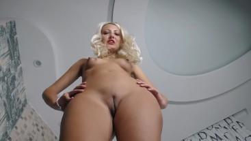 Feet JOI from Blonde Goddess Female domination