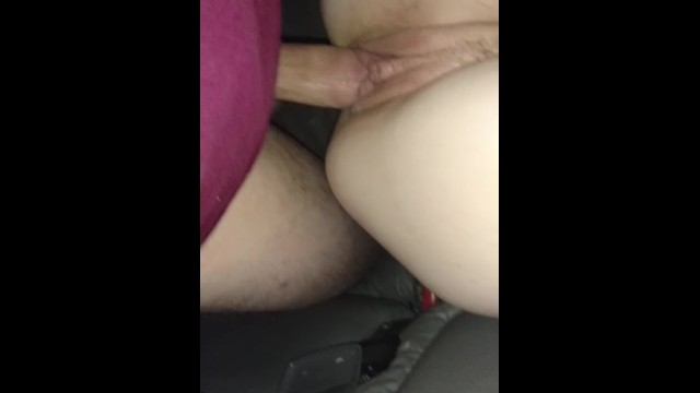 Backseat quickie creampie 1