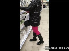 Shopping in Hunter wellies