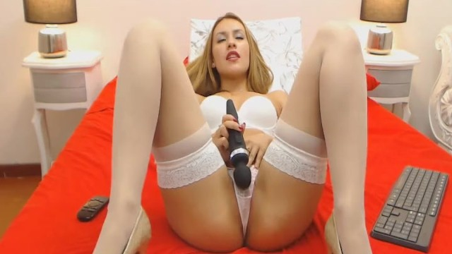 Awesome College Babe Fucking Herself With Her Toy 2