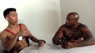 Slams superhero gayvengers asian stud black in hung lean parody  episode hung black
