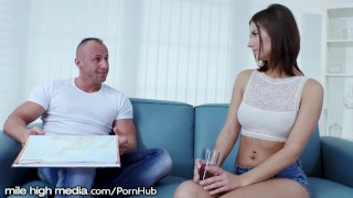 MileHigh Cheating Czech Girlfriend Loves Riding Dick Sixty on
