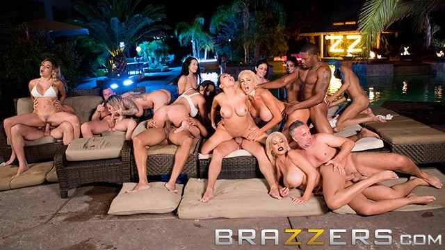 Bridgette wilson sex sence - Brazzers house season 3 ep4 - alexis fawx hosts a filthy sex orgy
