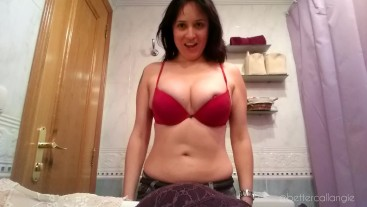 My boobs are too big! I try my hot old bras on and it is impossible!