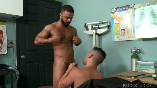 Graphic art studio gay video - Pridestudios hairy black dude latino best friend fuck on the job