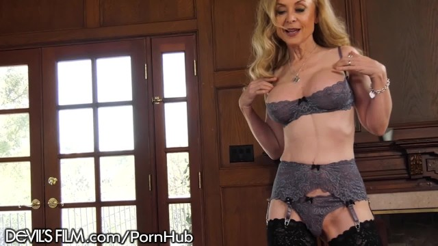 Nina hartley interracial sex - Devilsfilm hot mature nina hartley rlly luvs her grandsons friend