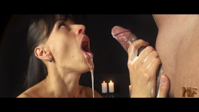 How to treat pre mature ejaculation Multiple cumshots,she knows how to do handjob.