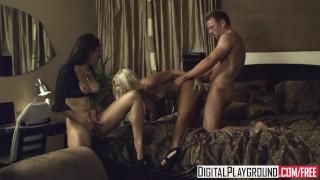 Digital Playground - Vicki Chase watches Jessie Volt & Erik Everhard fuck