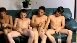 Homo young men chainsmoke and suck big dick vigorously