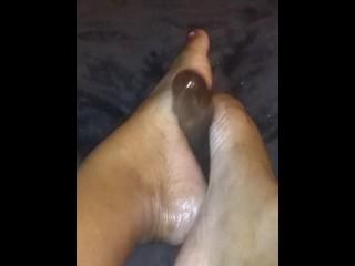 Watch my Feet Grip This DICK