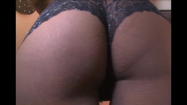 Spanking my Ass and pulling my panties down