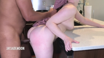 What's under that dress?- JayJadeMoon Amateur Couple- Full Length