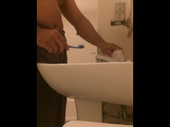 vlog #49 brushing my teeth