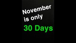 No Nut November Inspiration porno