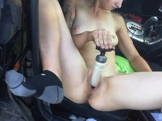 pussy play at park prt. 2