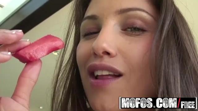 MOFOS - Celeste Star masturbates with a watermelon 18