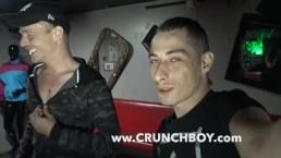 ALEX MORGAN fucked bareback by XXL COKC of scally boy in PARIS
