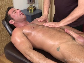 Jake cruises massages 6 muscle men...