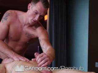 GayRoom Pleasurable slippery message FUCK