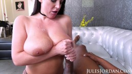 Jules Jordan - Angela White Takes Dredd's Huge BBC In Her Backdoor