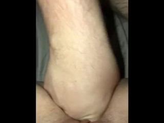 Hot babe gets ate out sucks dick and rides cock