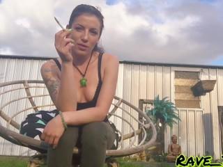 Cigarette smoking after work